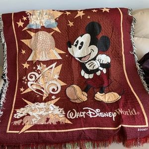 Walt Disney World Throw Blanket